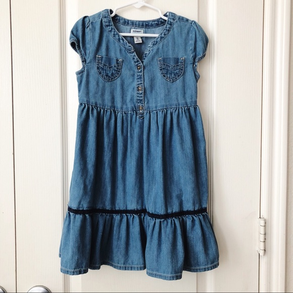 Old Navy size 5T  Denim  Dress Summer